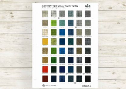 Picture of Crypton Performance textile card (Grade 4, fabrics).