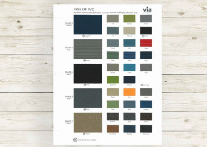 Picture of Free of PVC textile card (Grade 3, 4 & 6, vinyls).