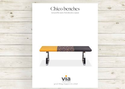 Picture of Chico benches brochure.