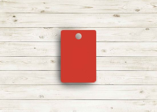 Picture of Zee red poly chip. #07Z