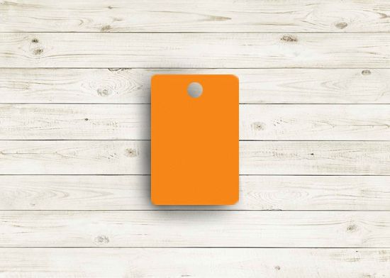 Picture of Zee orange poly chip. #05Z